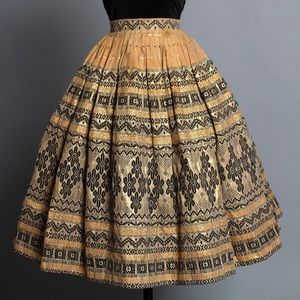 1950s Disneyland Adventureland Skirt